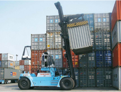 SMV Container Lift Trucks 8 – 45 Tonnes