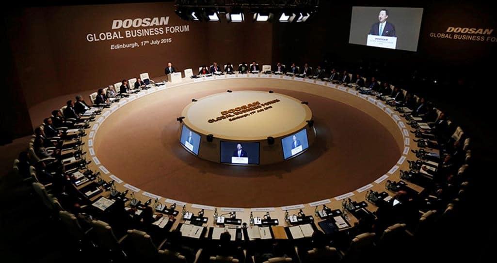 Doosan Global Business Forum 2015