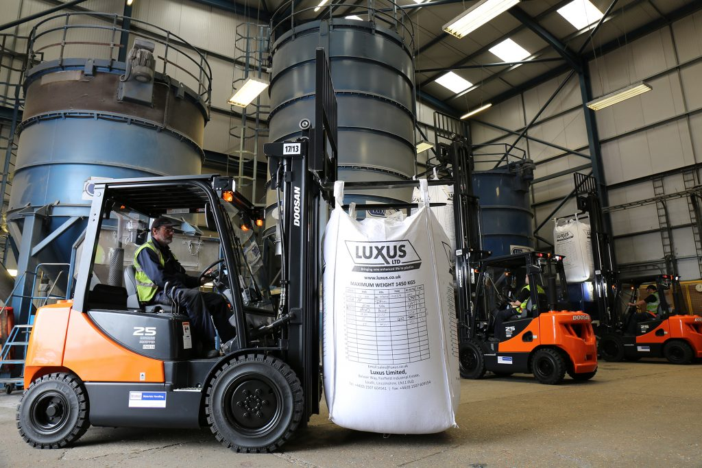 Windsor forklifts at Luxus