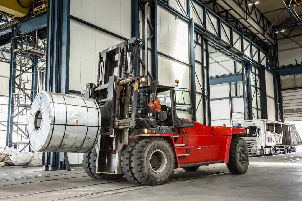 Kalmar Big Trucks Boost Bilbao