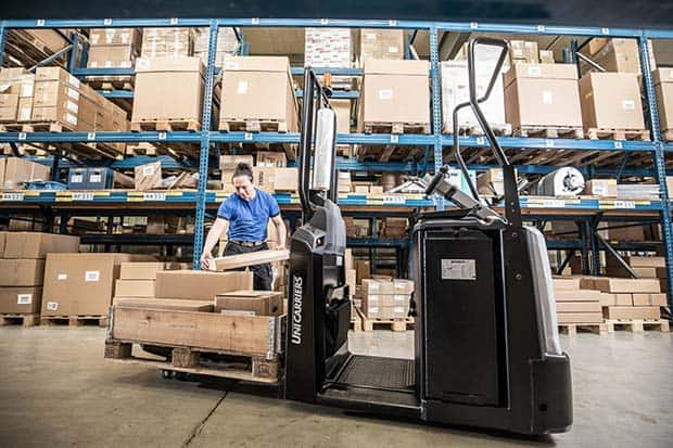 Fresh Orders: New O-Series Unicarriers Arrive